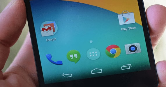 Android kitkat UI
