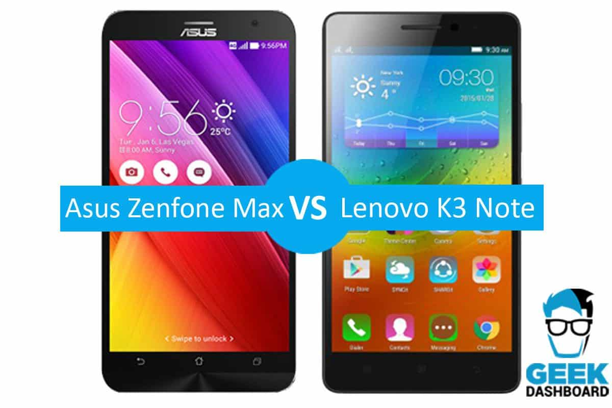 and asus zenfone 2 laser vs lenovo k3 note they preach