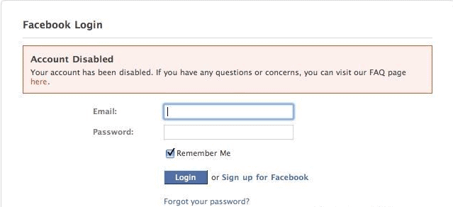 Facebook Account Disabled - How to Appeal to Reactivate it?