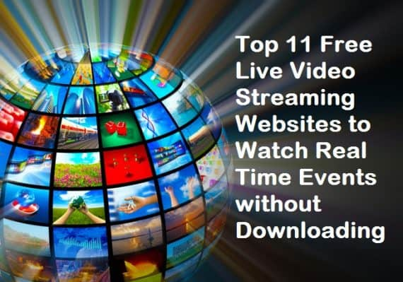 Free Live Video Streaming Websites