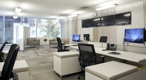 Inviting Office Environment