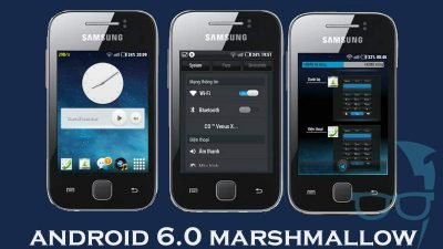 install Android 6.0 Marshmallow update on Samsung Galaxy Y GT-S5360