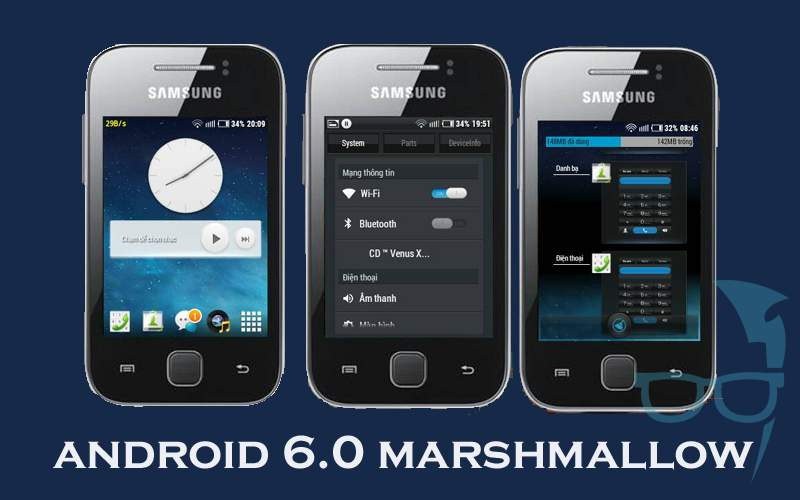 Install Android 6 0 Marshmallow Update on Samsung Galaxy Y GT-S5360