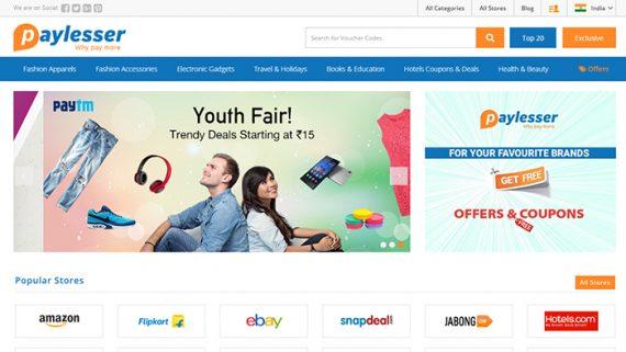 Paylesser Homepage