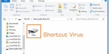 ShortcutVirusGeekDashboardArpitKharbnada