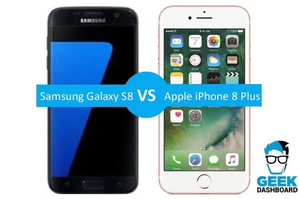 iphone 8 plus vs galaxy s8