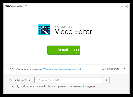 WonderShare video convertor