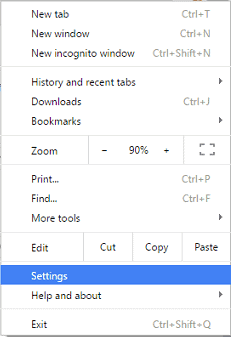 delete cookies on browser