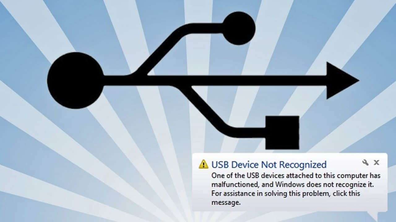 USB Device Not Recognized? Here's How To Fix It - { Solved }