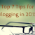 blogging tips for 2015