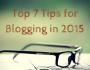 blogging tips for 2015