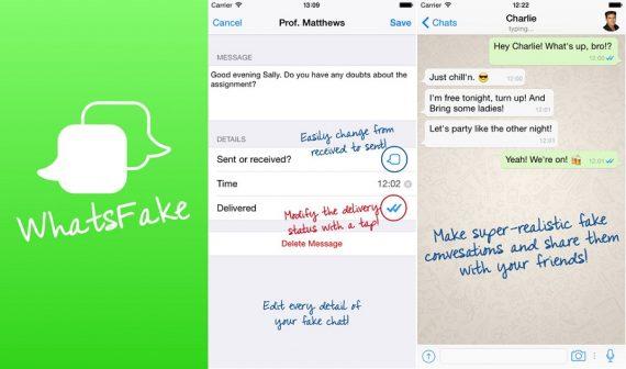 Trick to Generate Fake WhatsApp Conversation (Chat) Screenshot