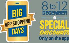 big app shopping days