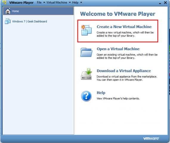 create a machine on windows 10