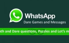 WhatsApp Dare games and messages