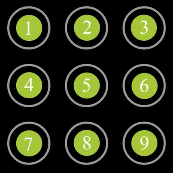Complex Pattern Lock Ideas with Hard Pattern Lock Tips