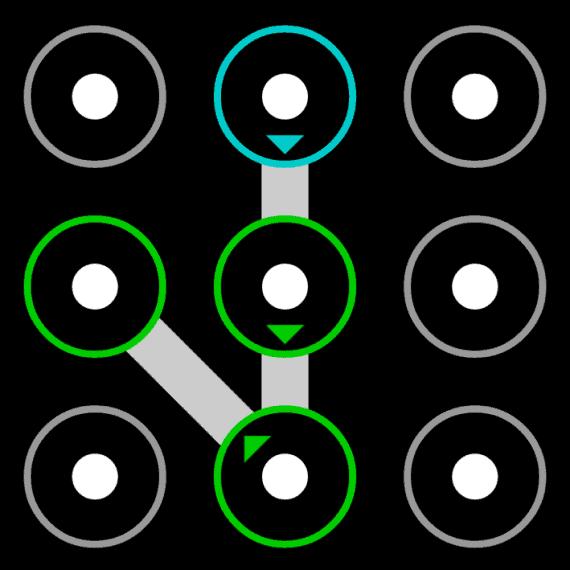 common pattern lock idea