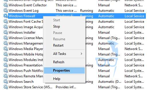 how to enable windows firewall