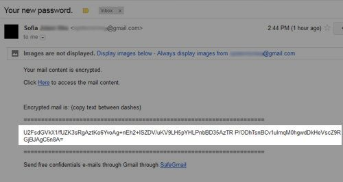 email encryption