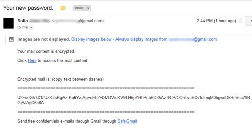 open encrypted email easily
