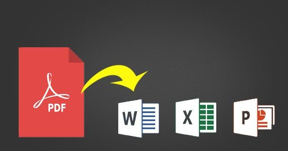 pdf file convert to excel file
