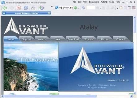 avant browser for windows 10