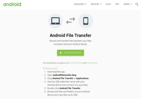 Solved - Android File Transfer Not Working - Fixed