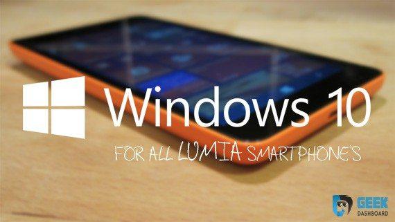 how to install windows 10 on lumia phone