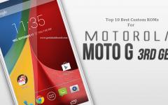 best custom roms for moto g3 2015
