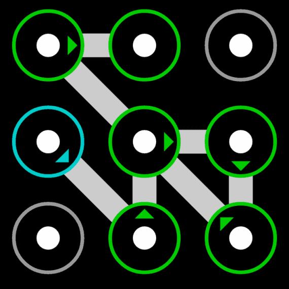 hardest pattern lock ideas
