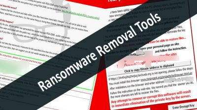 Best Ransomware removal tools