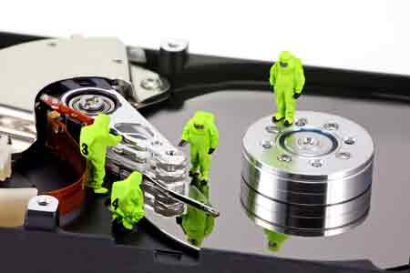 how to fix a corrupted external hard drive without formatting