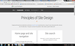 site design principles