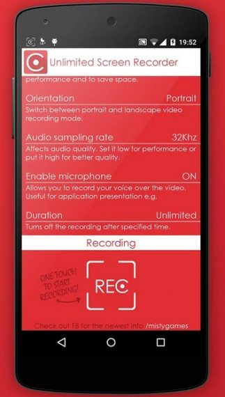 android screen recorder without limits