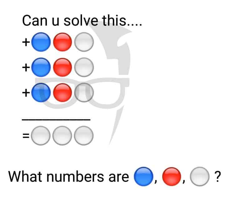 WhatsApp puzzle question